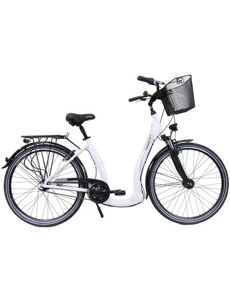 CHALLENGE Citybike Tiefeinsteiger, 26 Zoll, 7-Gang, Unisex