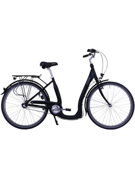 HAWK Citybike Tiefeinsteiger »Comfort Premium«, 28 Zoll, 3-Gang, Unisex