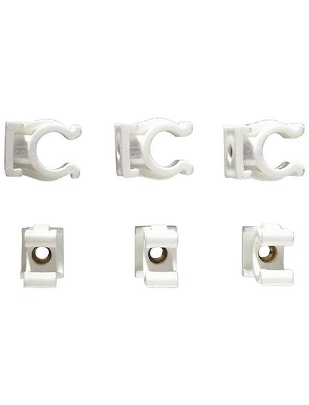 CORNAT Clips Kunststoff / Messing