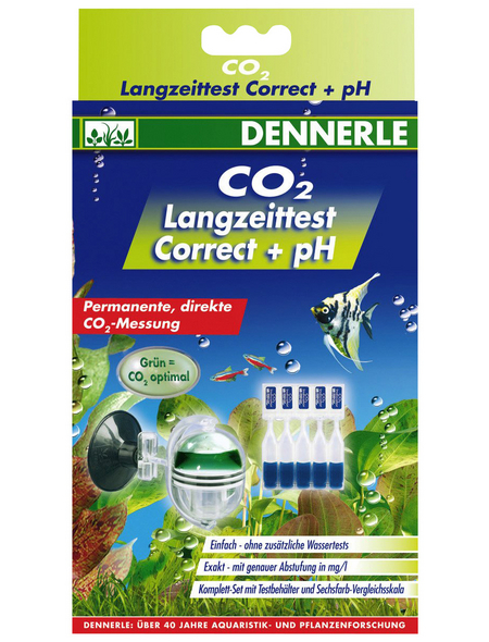 DENNERLE CO2-Langzeittest Profi-Line correct