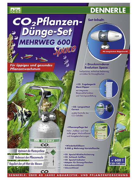 DENNERLE CO2-Set 600 Space