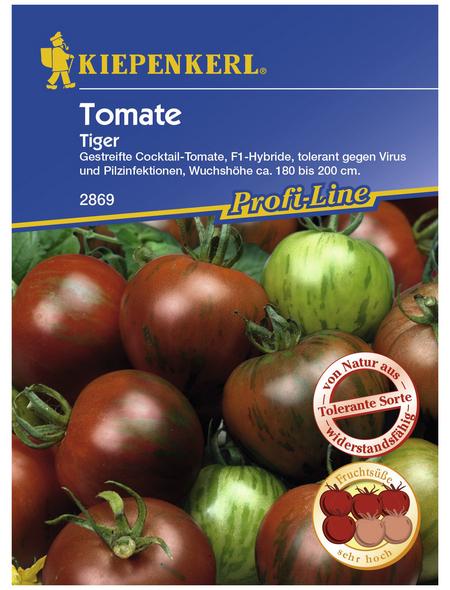 KIEPENKERL Cocktail-Tomate lycopersicum Solanum »Tiger F1«