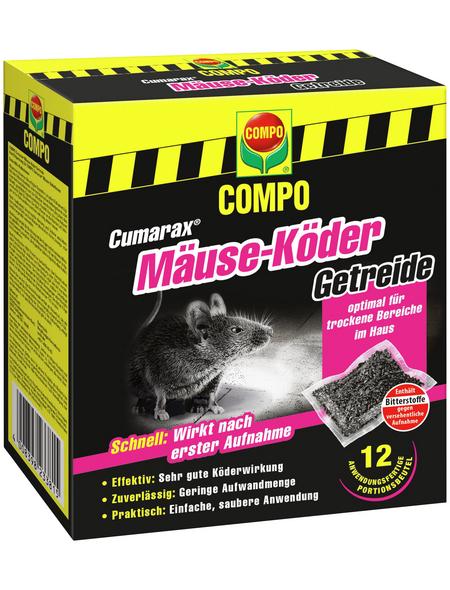 COMPO Cumarax® Mäuse-Köder Getreide 120 g