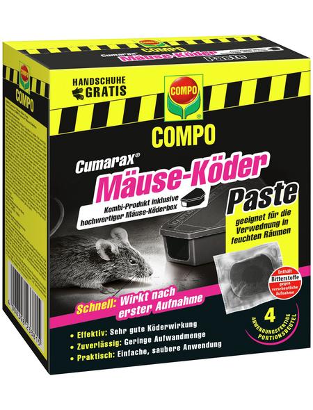 COMPO Cumarax® Mäuse-Köder Paste 40 g + Köderbox