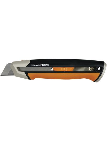 FISKARS Cuttermesser, CarbonMax, CarbonMax, Schwarz | Orange, Stahl