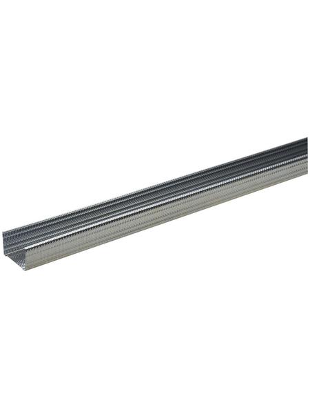 KNAUF CW-DB Ständerprofil, 7,5 x 5 x 260 cm, Stahl verzinkt, silber