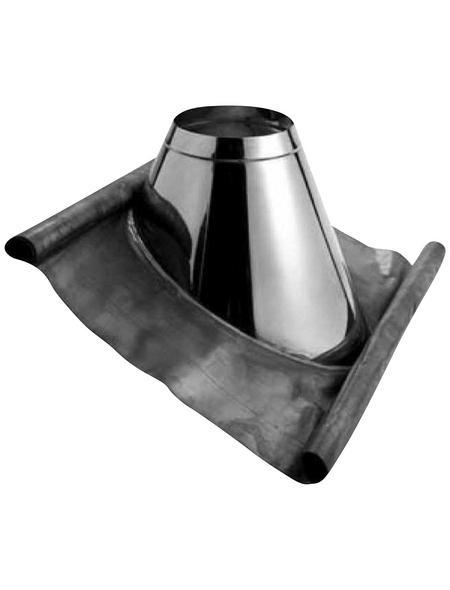 ZICKWOLFF Dachdurchführungs-Set, ØxL: 15 x 91 cm, Stärke: 2 mm, Edelstahl