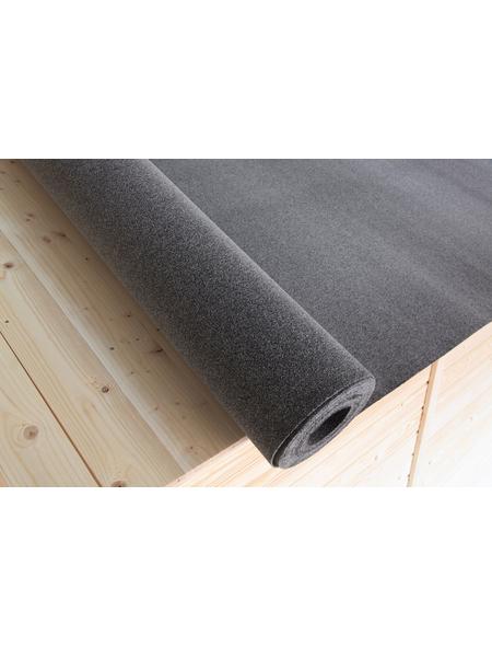 WOLFF Dachpappe für Gartenhäuser, BxT: 100 x cm, Bitumen