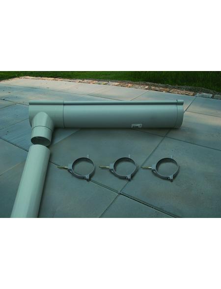 KARIBU Dachrinne für Gartenhäuser, PVC