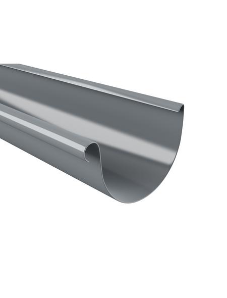 Dachrinne, Nennweite: 125 mm, Länge: 2000 mm, Hart-PVC (PVC-U)