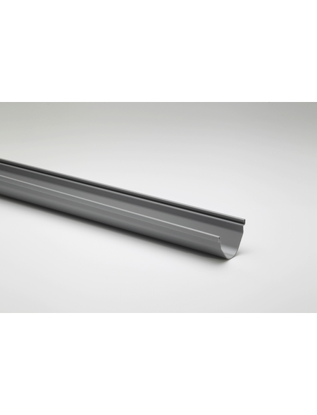 Dachrinne, Nennweite: 70 mm, Länge: 1000 mm, Hart-PVC (PVC-U)