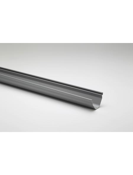 Dachrinne, Nennweite: 70 mm, Länge: 3000 mm, Hart-PVC (PVC-U)