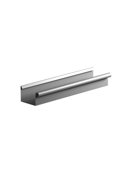 SAREI Dachrinne, Nennweite: 75 mm, Länge: 2000 mm, Aluminium