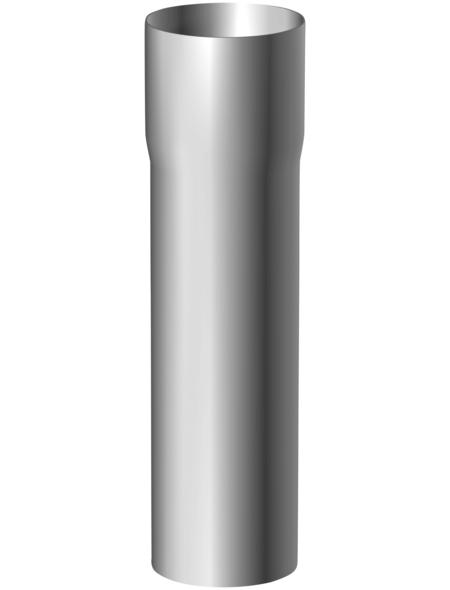 SAREI Dachrinne, universal, Nennweite: 100 mm, Aluminium