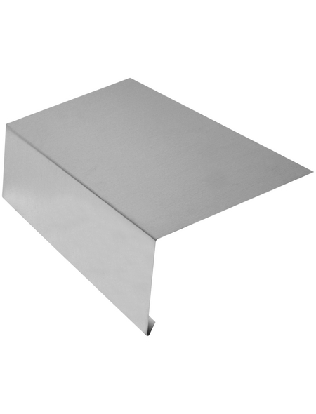 SAREI Dachrinneneinhang, BxL: 150 x 2000 mm, Aluminium, ohne Wasserfalz