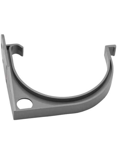 Dachrinnenhalter, Nennweite: 125 mm, halbrund, Hart-PVC (PVC-U)