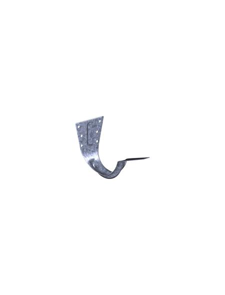 SAREI Dachrinnenträger, halbrund, Nennweite: 75 mm, verzinkter Stahl