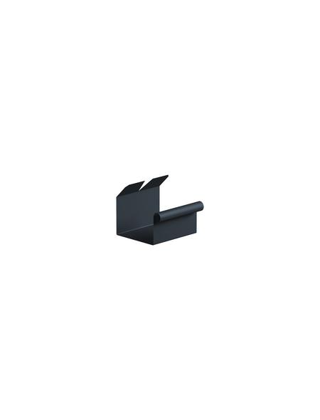 SAREI Dachrinnenverbinder, Nennweite: 75 mm, Aluminium
