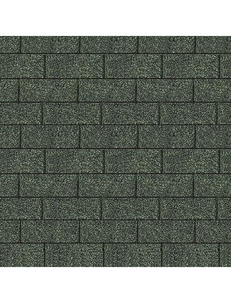 KARIBU Dachschindel, Bitumen, dunkelgrün, Paketinhalt: 3 m²