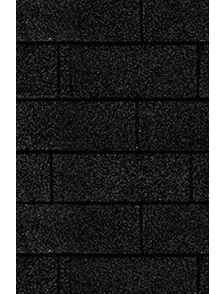 KARIBU Dachschindel, Bitumen, schwarz, Paketinhalt: 3 m²