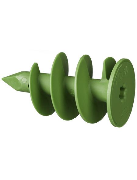 FISCHER Dämmstoffdübel, FID GREEN, Nylon, 4 Stück