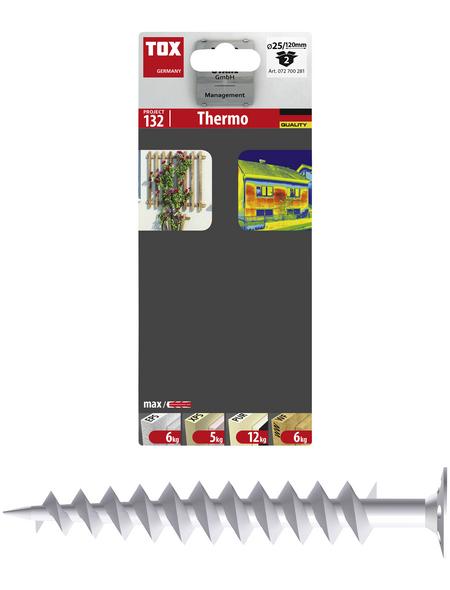 TOX Dämmstoffdübel, Polyamid (PA), 2 Stück, 10 x 120 mm