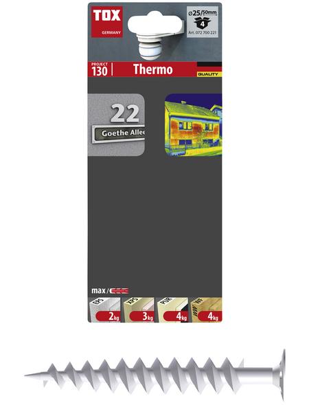 TOX Dämmstoffdübel, Polyamid (PA), 4 Stück, 6 x 50 mm