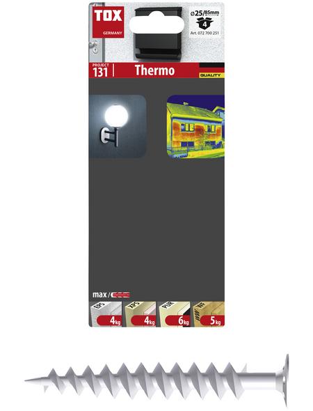 TOX Dämmstoffdübel, Polyamid (PA), 4 Stück, 8 x 85 mm