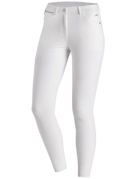 Schockenmöhle Sports Damenreithose Electra FS, Größe: 42, white