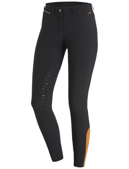 Schockenmöhle Sports Damenreithose Electra FS, Größe: 76, grey/orange