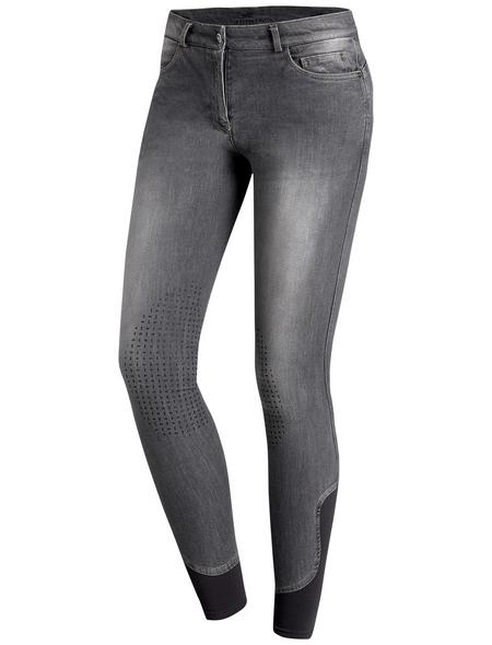 Schockenmöhle Sports Damenreithose Lyra Jeans KG, Größe: 34, graphit