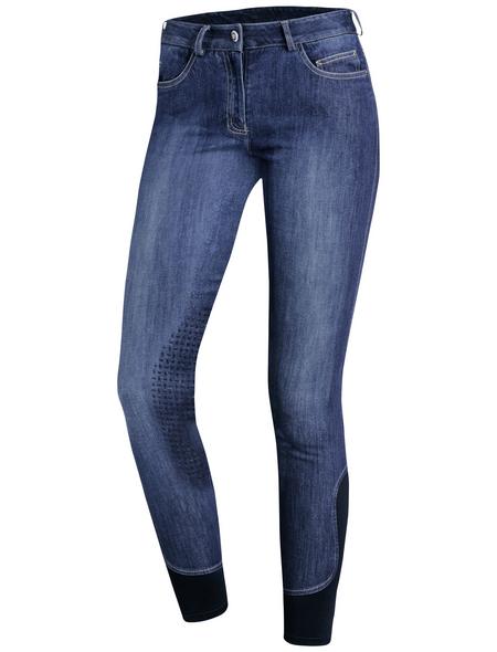 Schockenmöhle Sports Damenreithose Lyra Jeans KG, Größe: 34, jeans blue