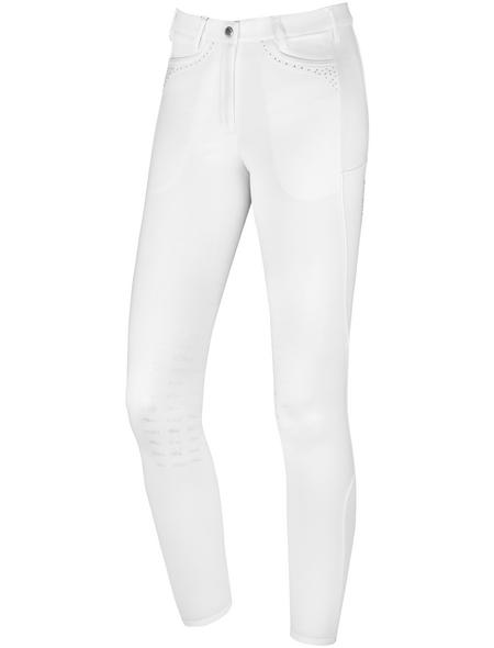 Schockenmöhle Sports Damenreithose Venus KP, Größe: 34, white