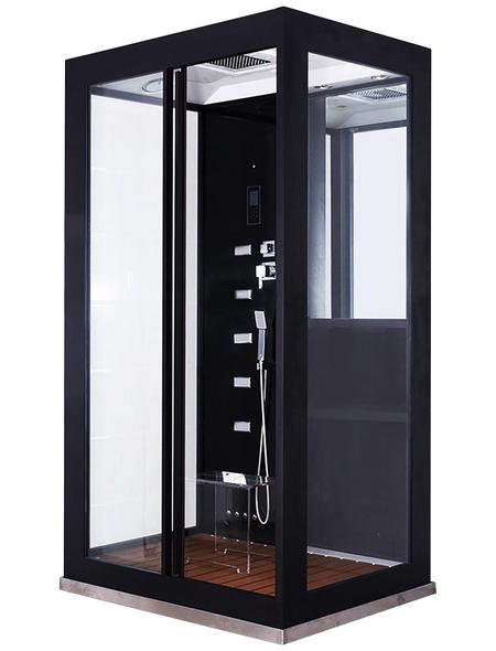 HOME DELUXE Dampfdusche »Luxory XL«, rechteckig, 120 x 220 x 120cm
