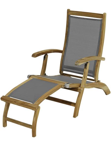 Deckchair, BxHxT: 137 x 93 x 58 cm, Akazienholz