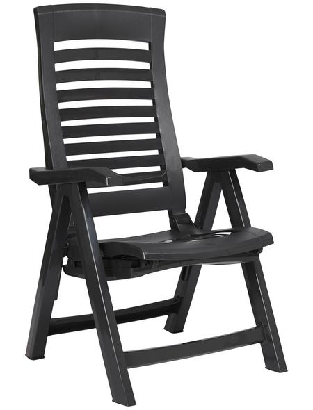 BEST Deckchair »Florida«, Gestell: Kunststoff, inkl. Auflage