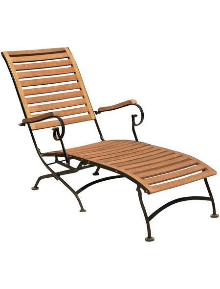 GARDEN PLEASURE Deckchair »Wien«, Gestell: Stahl