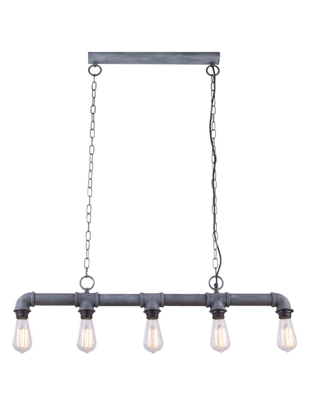Deckenleuchte »BAYUDA« grau, 60 W, E27, inkl. Leuchtmittel