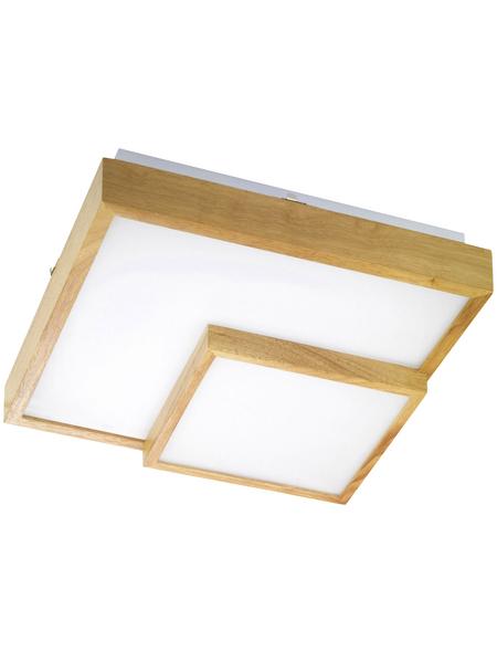 wofi® Deckenleuchte braun 34 W, 1-flammig, inkl. Leuchtmittel in warmweiß