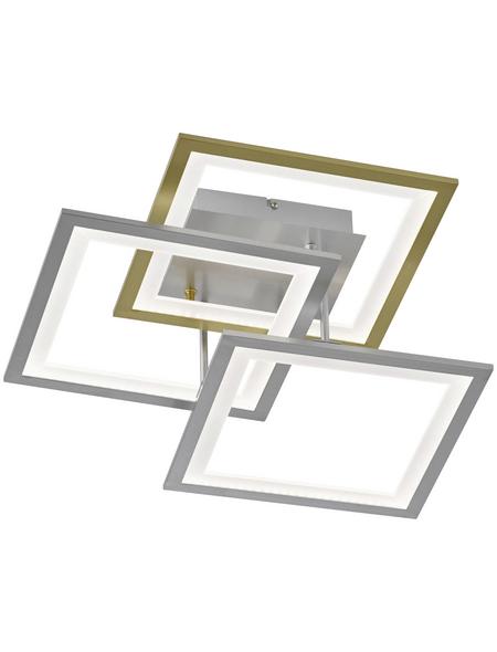 Deckenleuchte bunt 33 W, 3-flammig, dimmbar, inkl. Leuchtmittel in warmweiß
