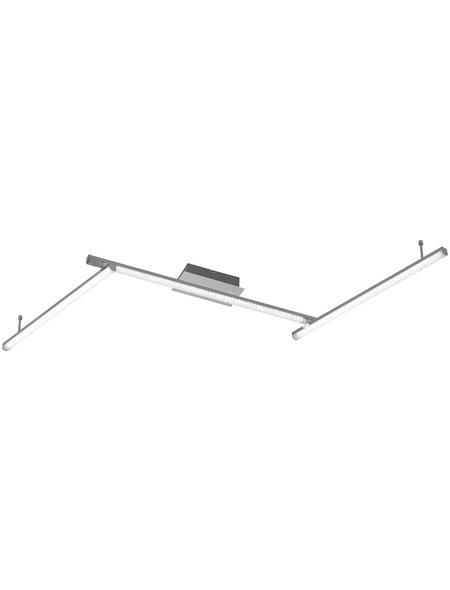 wofi® Deckenleuchte dimmbar, Kunststoff/Aluminium/Acrylat
