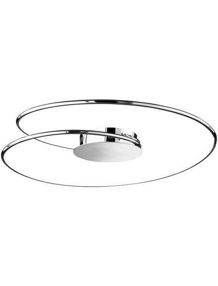 wofi® Deckenleuchte dimmbar, Kunststoff/Metall