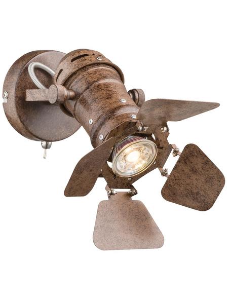 GLOBO LIGHTING Deckenleuchte »EGON« rostfarben 50 W, 1-flammig, GU10, inkl. Leuchtmittel