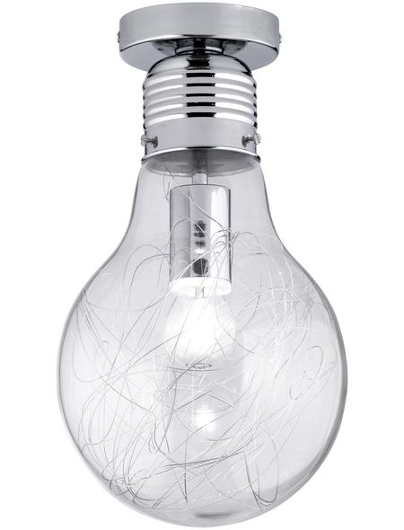 wofi® Deckenleuchte »FUTURA« chromfarben 60 W, 1-flammig, E27, ohne Leuchtmittel