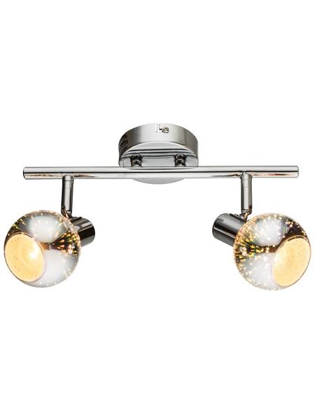 GLOBO LIGHTING Deckenleuchte »KOBY« chromfarben 40 W, 3-flammig, E14, inkl. Leuchtmittel