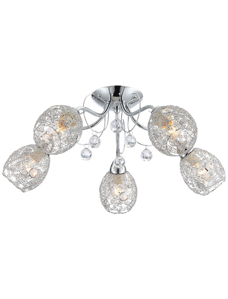 GLOBO LIGHTING Deckenleuchte »KORDULA«, Metall/Glas