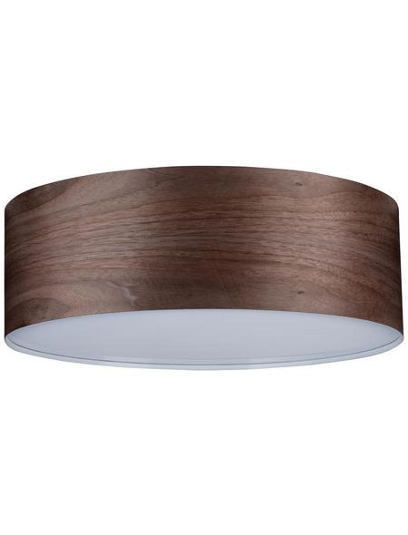 PAULMANN Deckenleuchte »Neordic Liska« dunkelbraun 60 W, E27, dimmbar, ohne Leuchtmittel