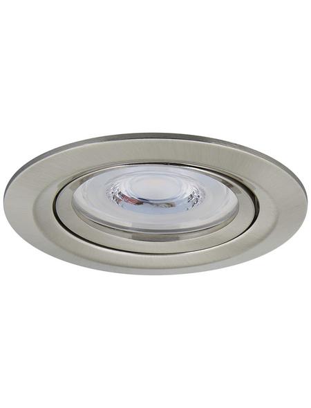 PAULMANN Deckenleuchte »Reflector Coin«, dimmbar, Aluminium/Zink
