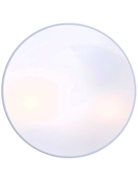 Deckenleuchte »VRANOS« silbermetallic/opalfarben, 40 W, E27, inkl. Leuchtmittel