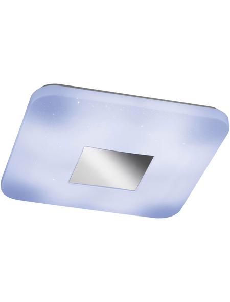 wofi® Deckenleuchte weiß 20 W, 1-flammig, dimmbar, inkl. Leuchtmittel in tageslichtweiß